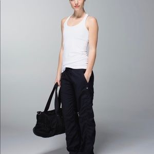 Lululemon Dance Studio Pants Lined Size 8 Black
